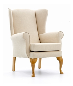 Alexander High Back Wing Chair