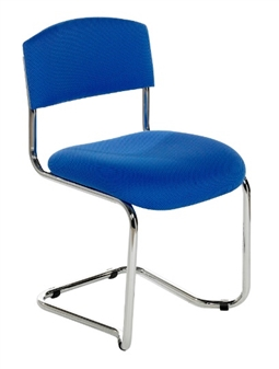 CS Chrome Cantilever Chair