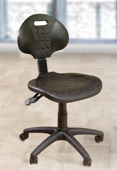 LAB Polyurethane Lab Operator Chair