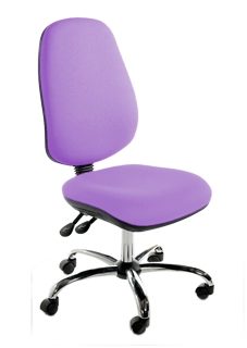 CBIMP Jumbo Operator Chair - Chrome Base