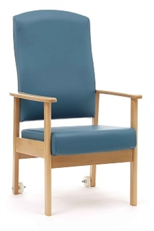 Cambridge Patient High Back Arm Chair - NHS Specification