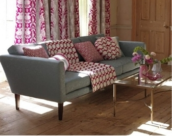 Coral Retro Chair and Sofas