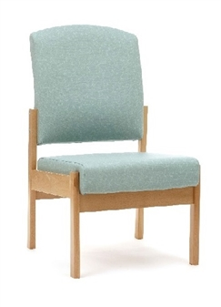 Cambridge Patient Medium Back Chair Without Arms - NHS Specification