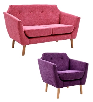 Sandray Chair and 2 & 3 Seater Sofa
