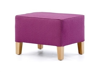 Large Taper Leg Foot Stool