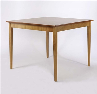 Square Tapered Leg Dining Table