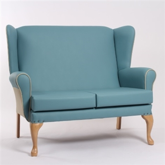 Alexander High Back Two Seater Sofa