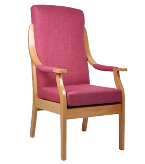 Oxford Chair Shown With Optional Arm Pads