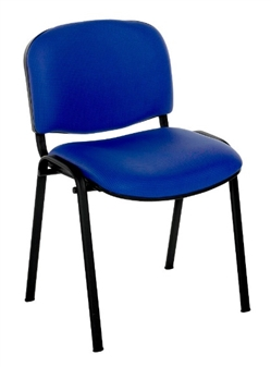F1B Stackable Chair - Black Frame