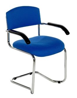 CSA Chrome Cantilever Armchair