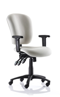 Balanz Operator Chair With Height-Adjustable Arms
