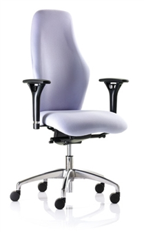 Cambridge Task Chair With Height-Adjustable Arms