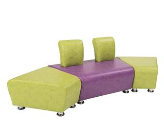 SINUOUS Double Reception Seating