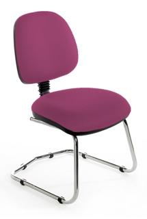 CMIMPC Medium Back Cantilever Chair - Chrome Base