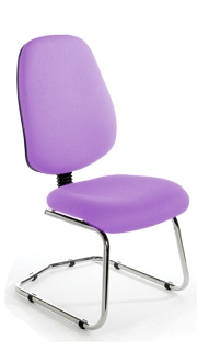 CBIMPC Jumbo Cantilever Chair - Chrome Base