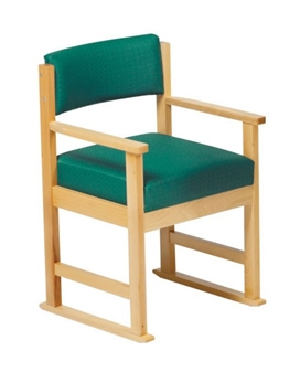 Ribble Dining Chair With Arms With Skis