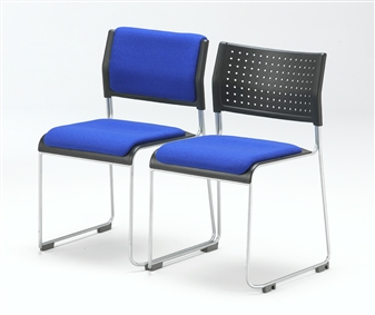 Twighlight Stacking Chair - Upholstered