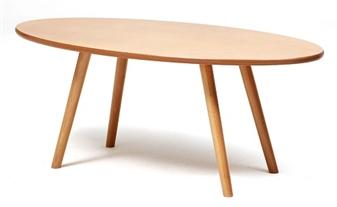 Manhattan Retro Oval Coffee Table