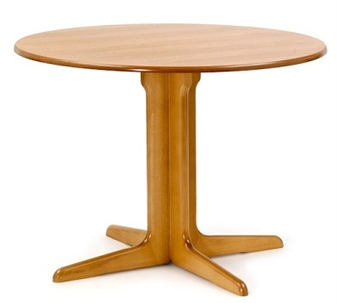 Centre Pedestal Dining Table 1040mm Top