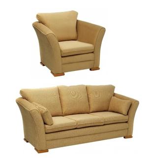 Salisbury Chair & 3-Seater Sofa