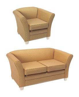 Mayfair Chair & Mayfair 2-Seater Sofa