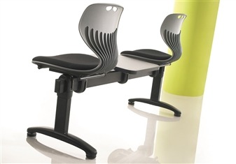 Mata Beam Seating With Upholstered Seats