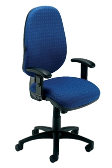 Ergonomic Chair With Adjustable & Fold Away Arms