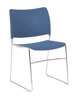 Seba Side Chair - Blue