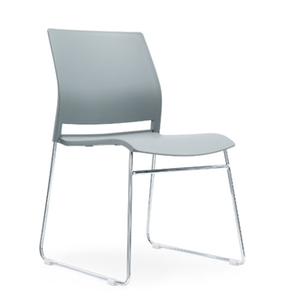 Verse Multi-Purpose Stacking Chair - Grey