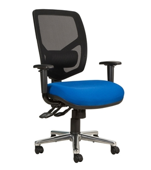 Haddon Bariatric Mesh Back Chair With Arms