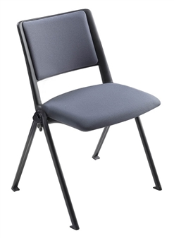 Pinnacle Chair Wiith Upholstered Seat & Back