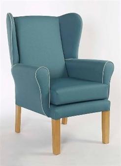 York Wing Chair + York Footstool