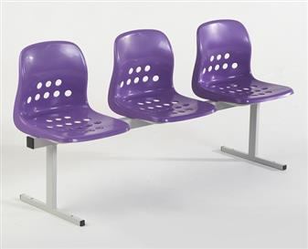 Pepperpot Beam Seating - 3-Seater