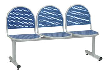 Charter Beam Seating - Blue Seats
