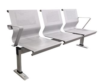 Tala 3 Seater Beam With Cut Arms & Standard Legs