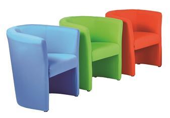 Asti Tub Chairs - Single Seat