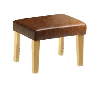 Straight Leg Footstool