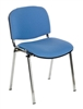F1C Stackable Chair - Chrome Frame