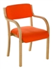TYSON Light Beech Wooden Armchair