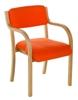 TYSON Light Beech Wooden Armchair