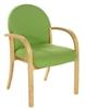 LENNOX Beech Woodframe Armchair