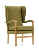 Deepdale Chair With Padded Arms & Wings