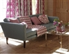 Coral  Retro 3 Seater Sofa