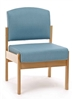 Cambridge Low Back Chair Without Arms
