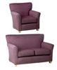 Milan Chair & Milan 2-Seater Sofa