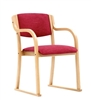 Modena Armchair with Skis