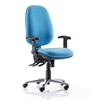 Kirby Bariatric High Back Operator Chair No Arms