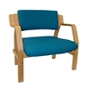 Windsor Woodframe Bariatric Stacking Chair