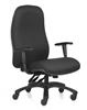 Excelsior Bariatric High Back Swivel Chair - Black Fabric