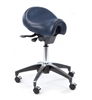 Deluxe Ergonomic Saddle Stool - Dark Blue